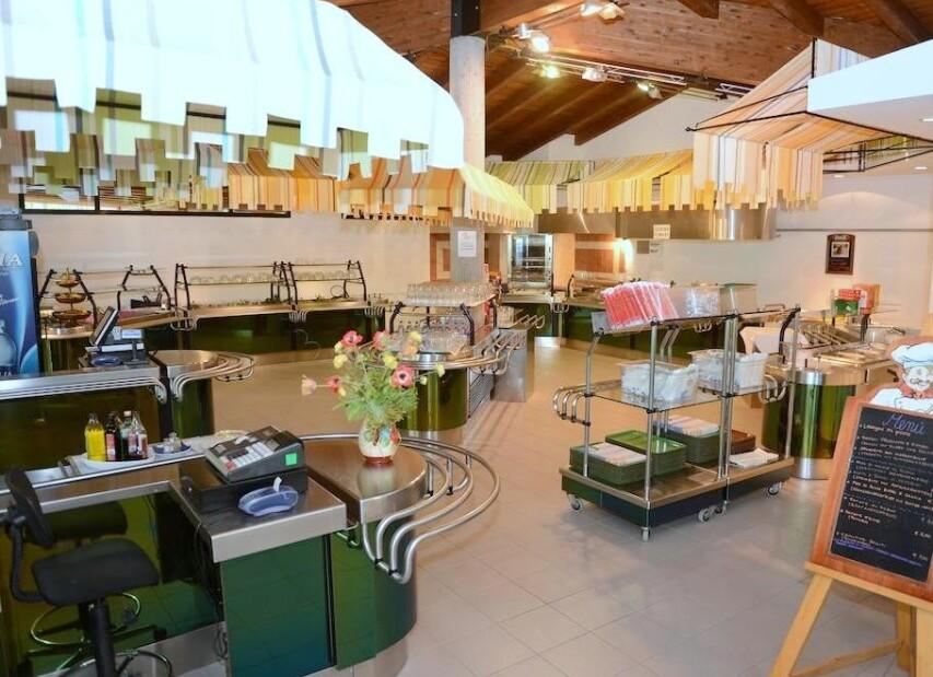 restaurace self-service - Camping Village Pino Mare