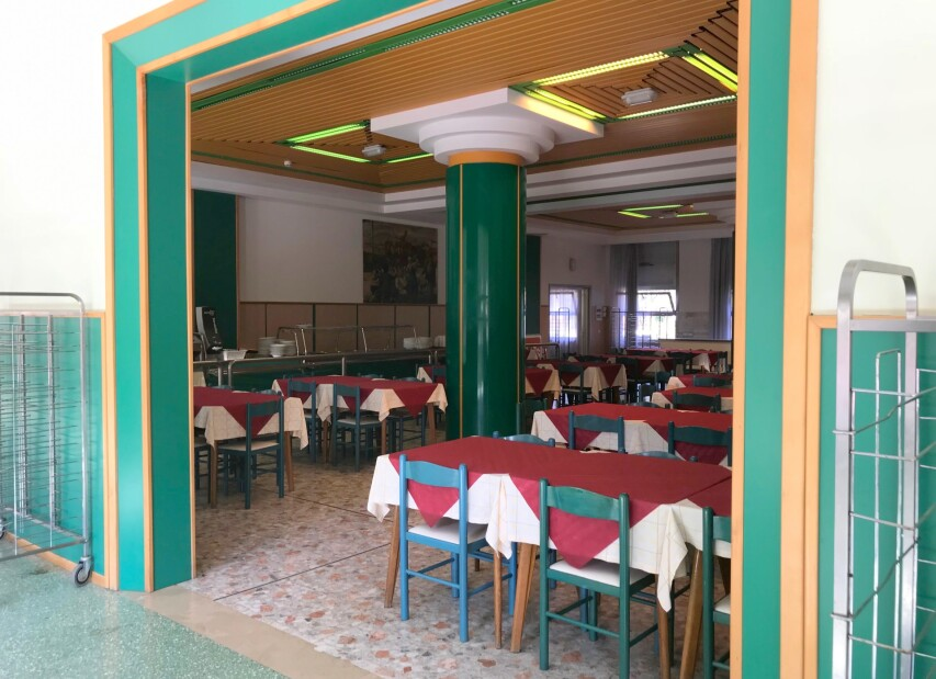 self-service jídelna RistoGet - Bella Italia Efa Village