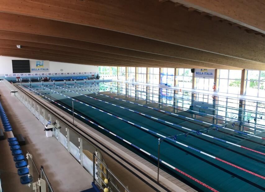 olympijský bazén - Bella Italia Efa Village