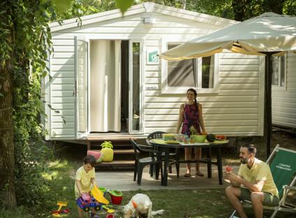 mobilhome typ H Plus - Camping Sabbiadoro