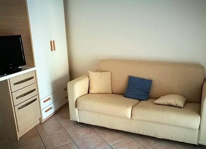 apartmán mono bez výhledu na moře - residence Baia La Ruota