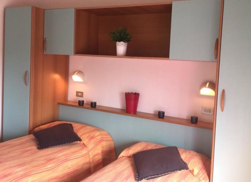dvou-čtyřlůžkový pokoj příklad