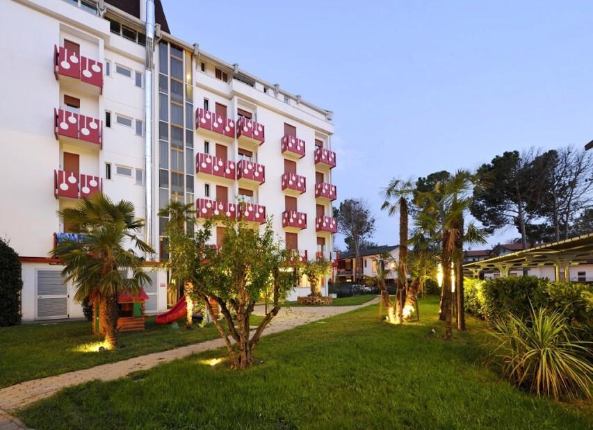Klidné a pohodlné ubytování v Bibione