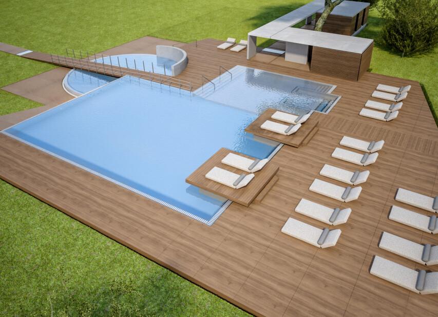 Capo Nord**** - bazén