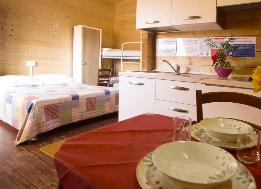 camping rialto chalet
