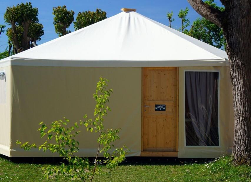 Camping rialto glamping