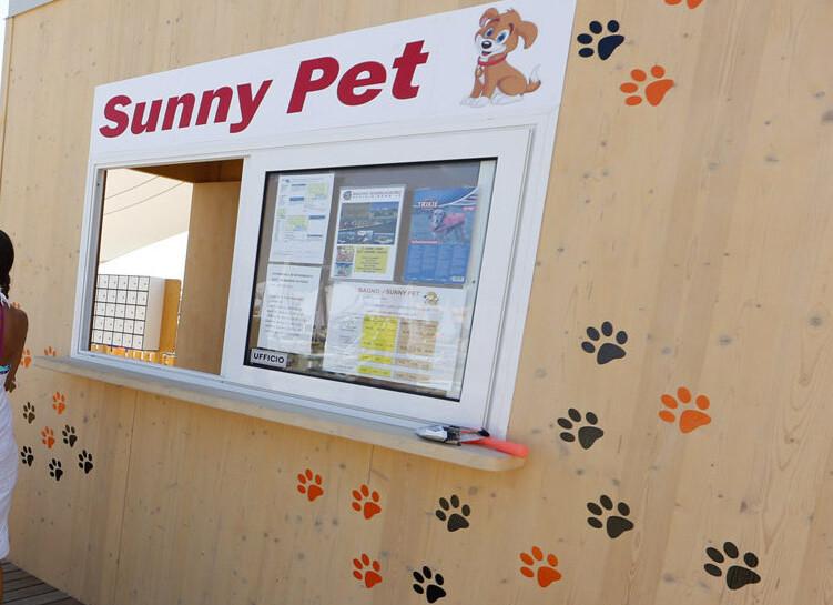 psí pláž Sunny Pet - Lignano Sabbiadoro