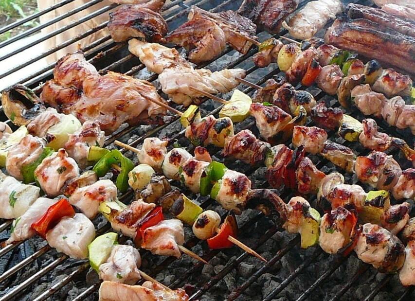 Marina Azzurra Resort**** - barbecue zóna