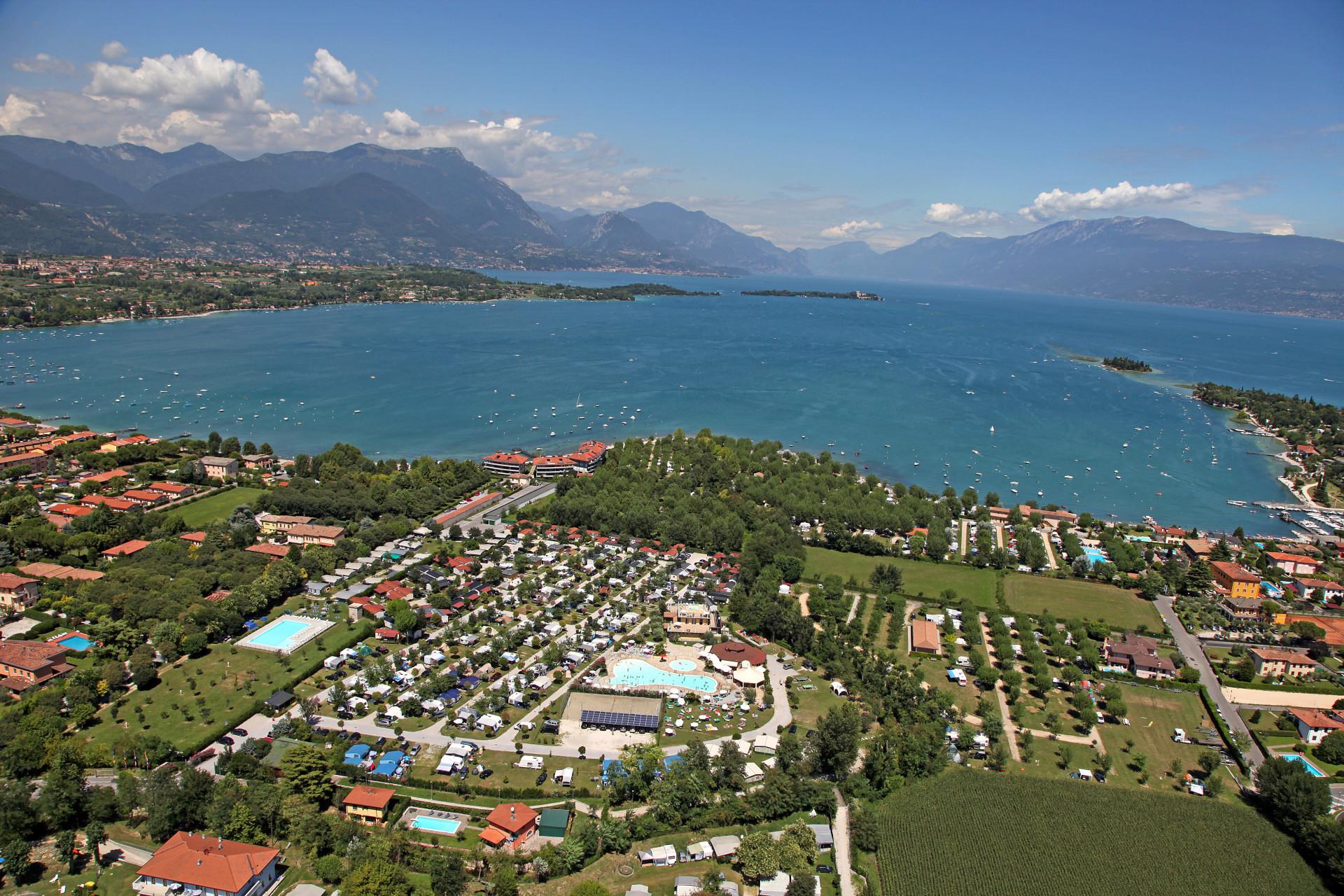 Přidán camping Baia Verde u Lago di Garda