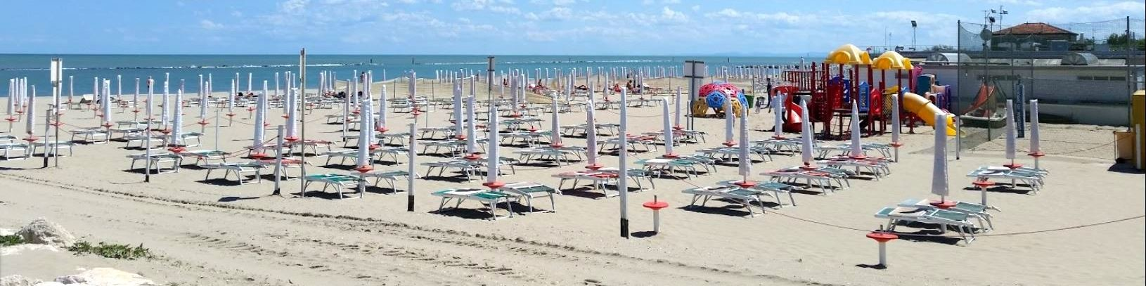 Placená pláž Bagno del Passatore