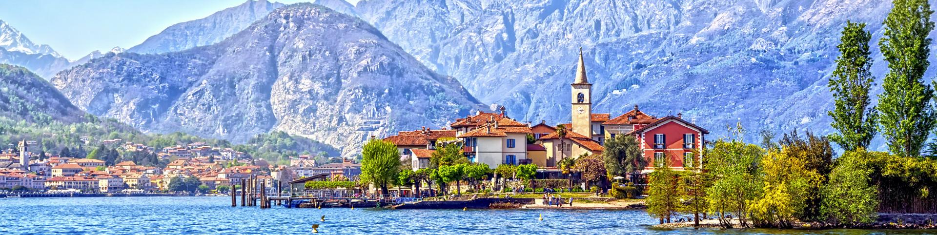 Lago Maggiore - ostrov Superiore dei Pescatori