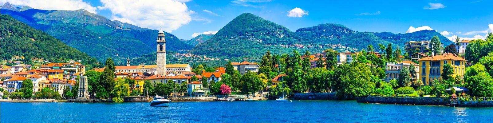 Lago Maggiore - městečko Pallanza