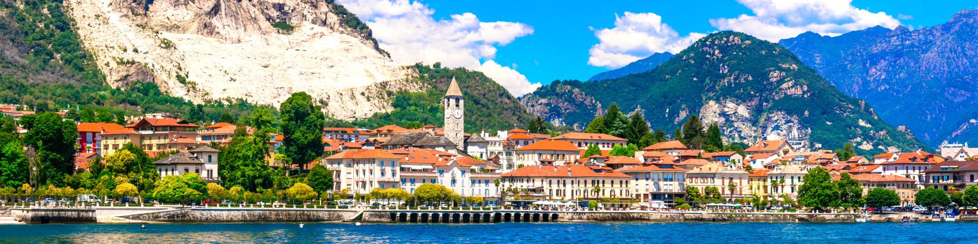Lago Maggiore - městečko Baveno