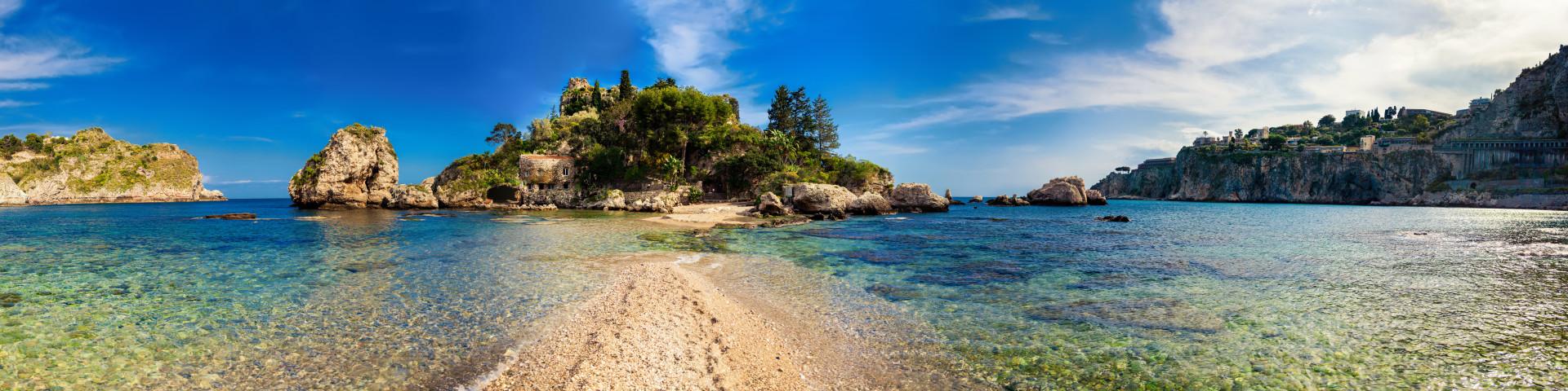 Taormina - ostrůvek Isola Bella