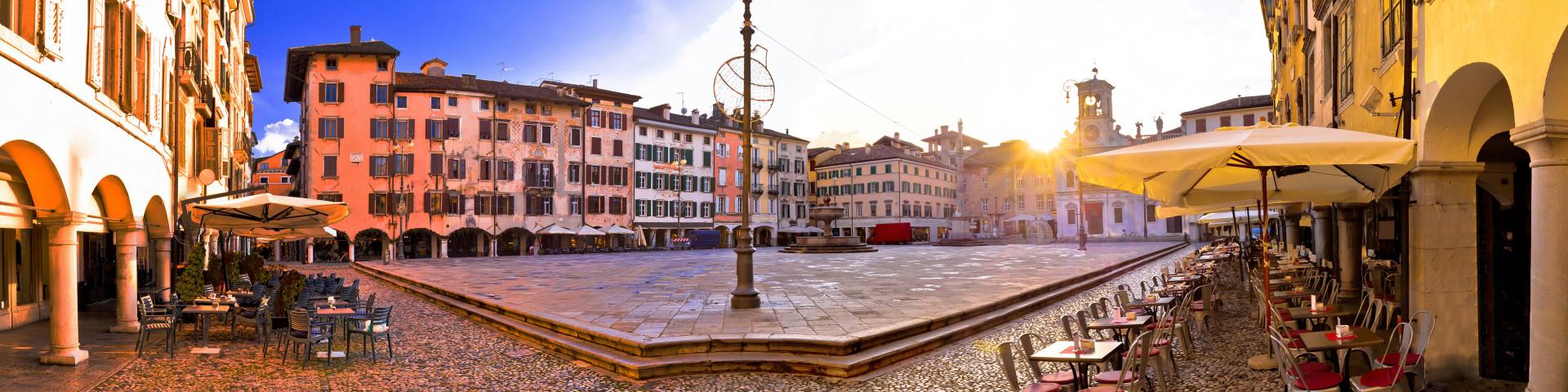 Udine - náměstí Piazza San Giacomo