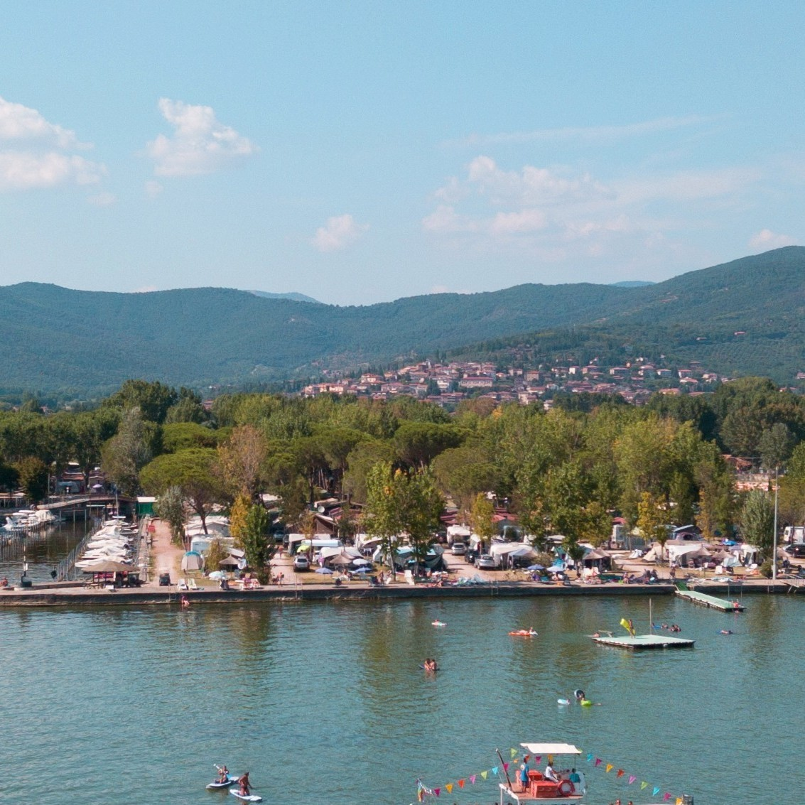 Znáte jezero Trasimeno?