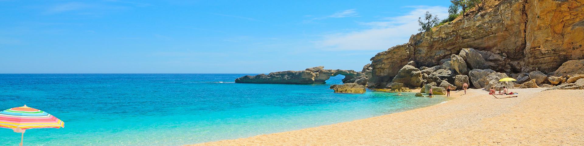 pláž Cala Luna