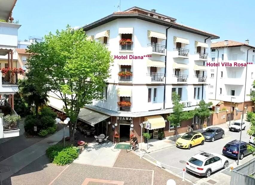 Hotel Diana**** / Hotel Villa Rosa***